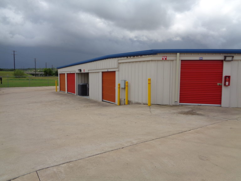 Storage units at Inner Loop Storage.