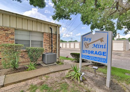 Bay Mini Storage facility in Baytown, TX.