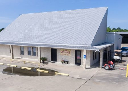 AAA Self Storage facility in Brenham, TX.
