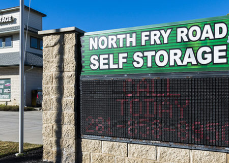 North Fry Road Self Storage in Katy, TX.