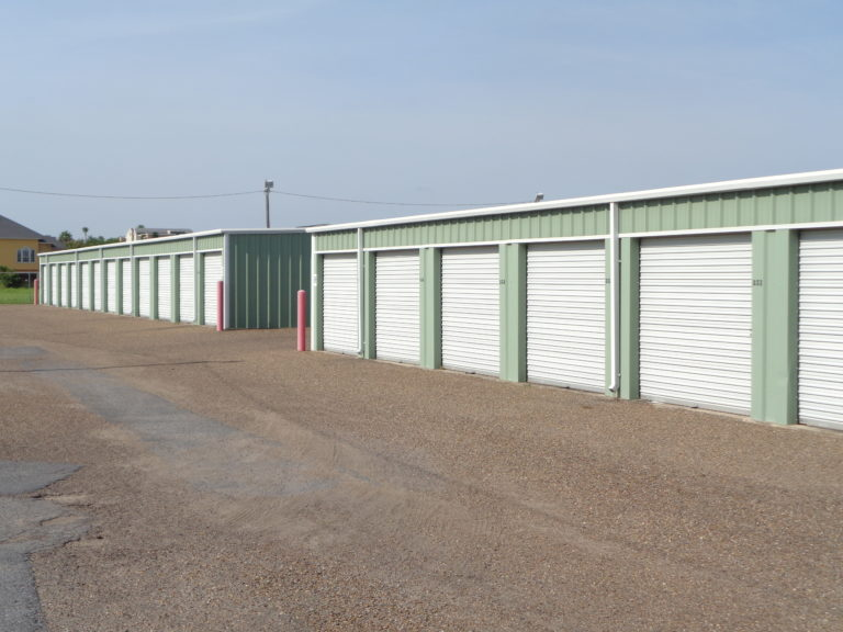 Storage units in McAllen Texas.