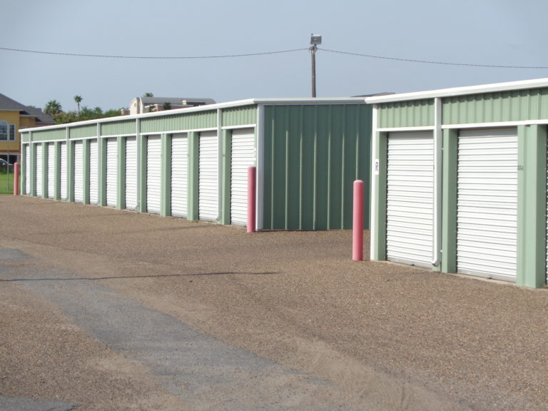 Drive up storage units in McAllen Texas.
